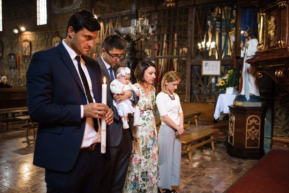 Tarnów fotografia okolicznościowa chrzest święty Artur Kwiek