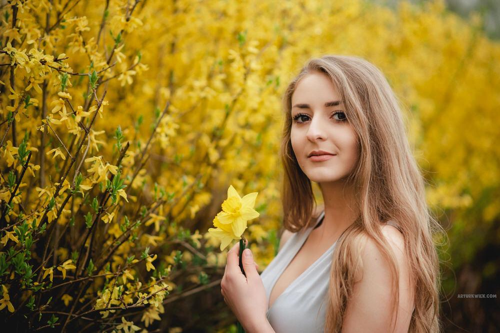wiosenna sesja portretowa wKrakowie