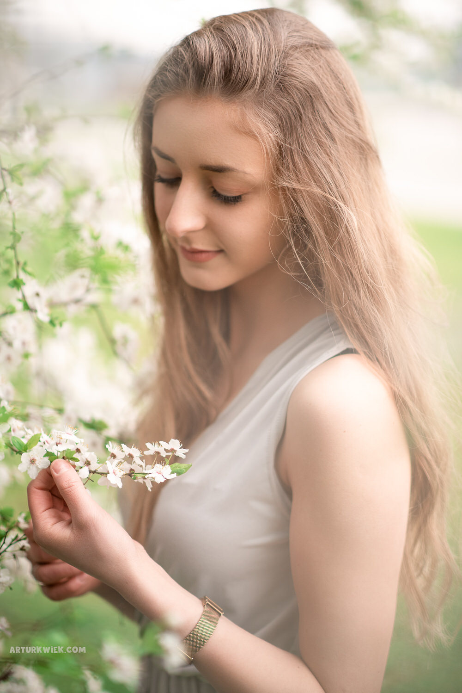 wiosenna sesja portretowa w Krakowie