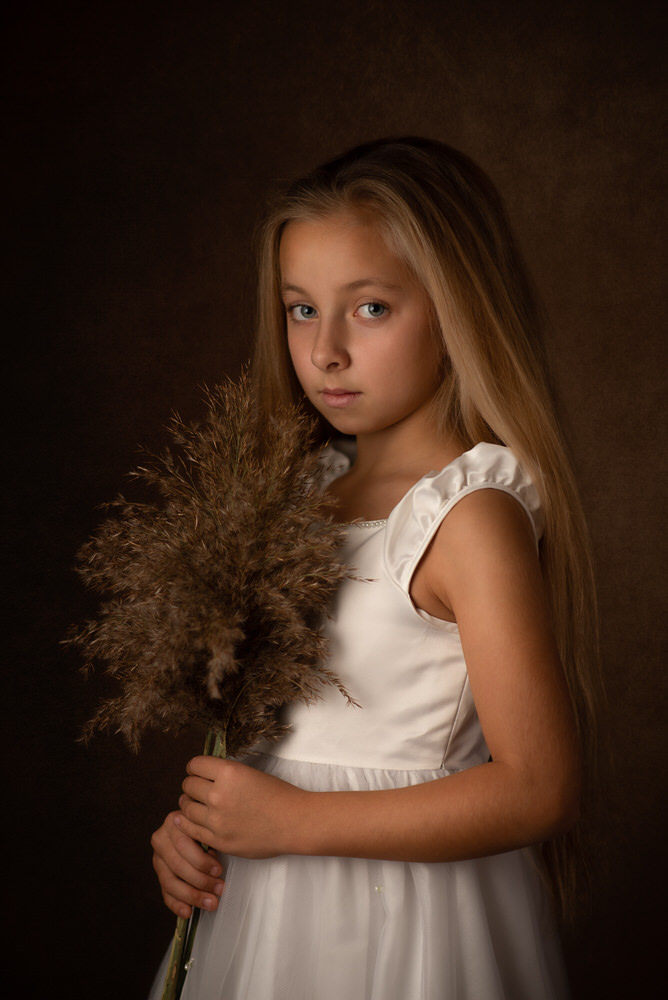 Portret dzieciecy portret malarski tarnow artur kwiek fotografia